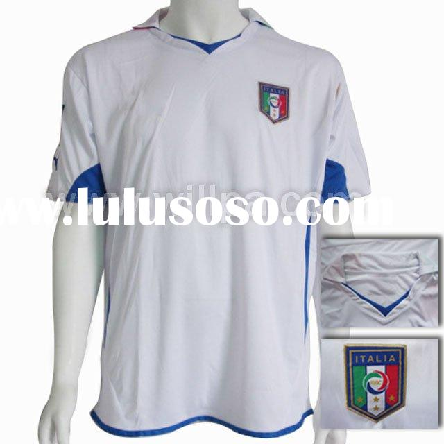 2010 New italy away white Football Jersey
