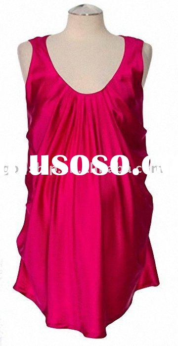 2011 Fashion New Mother Red Dress For Pregnant Womens Prom Gowns Wear M-0011