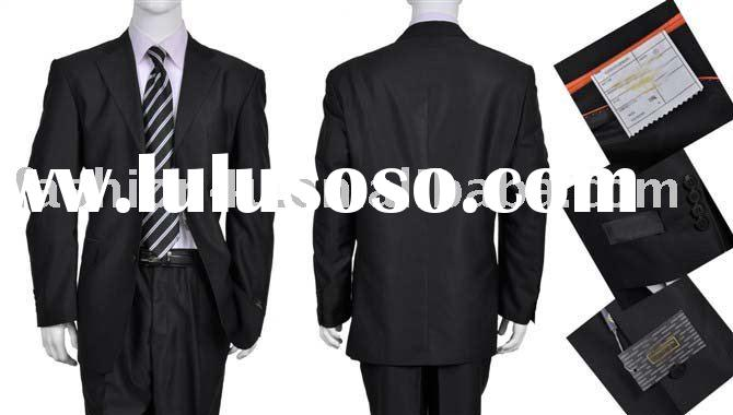 Brand New Men's Fashion Dress Suits Business Suits Black