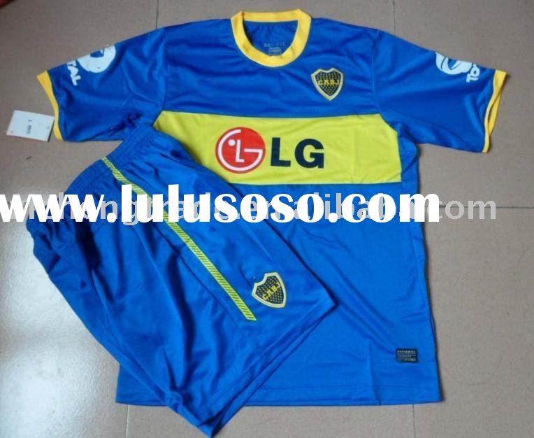 Cheap 10-11 Boca Juniors Home Football Shirt For Wholesale