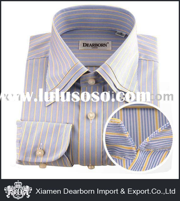 Cotton Men's fashion dress shirts