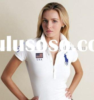 Fashion polo women t-shirts
