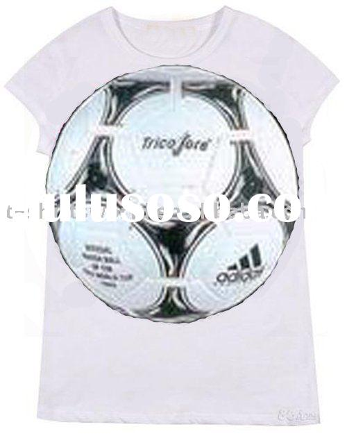 Football printing design 100% COTTON t-shirts