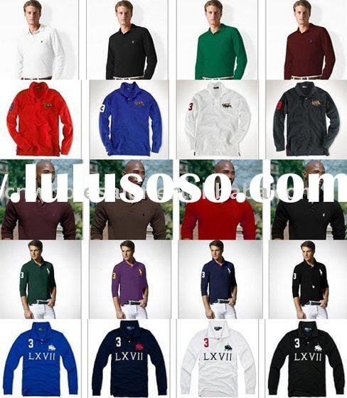 Long sleeve polo t-shirts