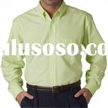 Men's Classic Wrinkle-Free Long-Sleeve Oxford shirt