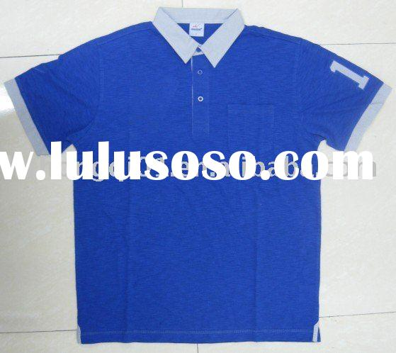 New style men's polo T-shirts for 2010 summer