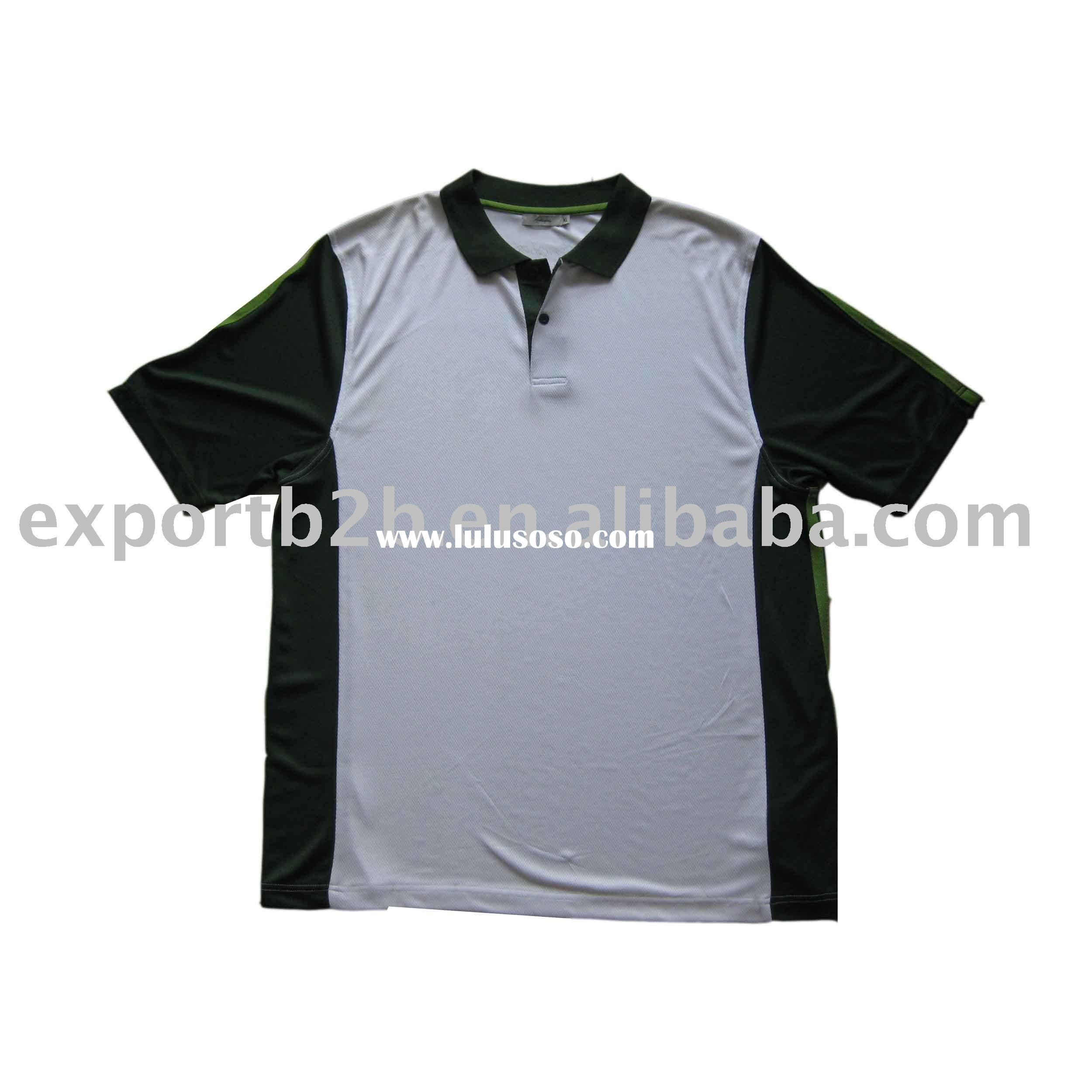 Plus size 100% cotton men's  Polo T-shirt