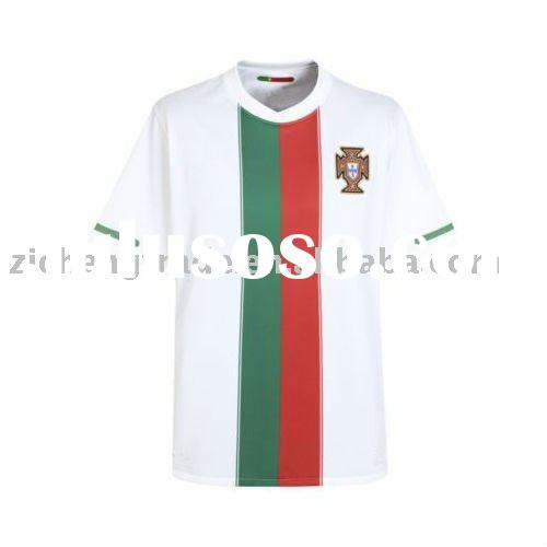 Portugal National Away Cheap T Shirts 2010 In Thailand Quality