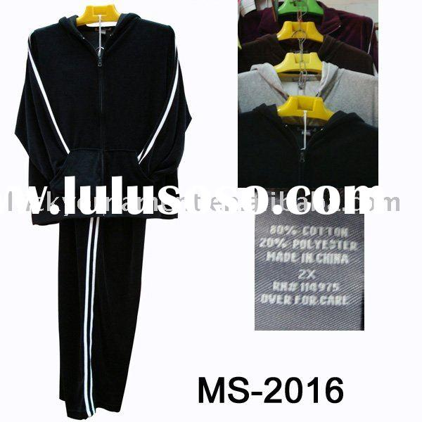 Stock men's jogging suits(MS-2016)