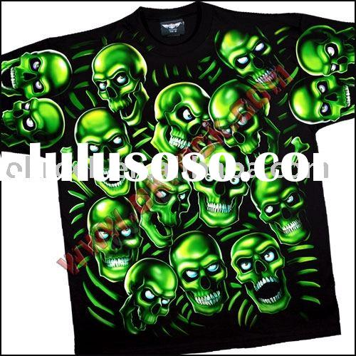 Wholesale Skull T Shirt band t-shirt rock t-shirt