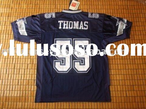 $21~$25-NEW football jerseys-Dallas Cowboys #55 Thomas navy football JERSEYS size 48-56