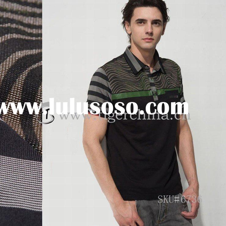 #6736 Hot Fashion 100% Cotton Men's Polo Shirt 2011 Summer Latest Design