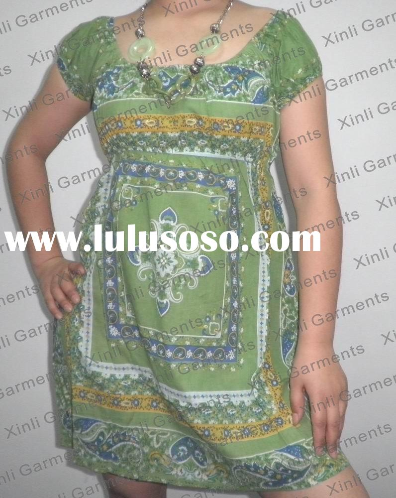 (code: 100132) Plus size dress