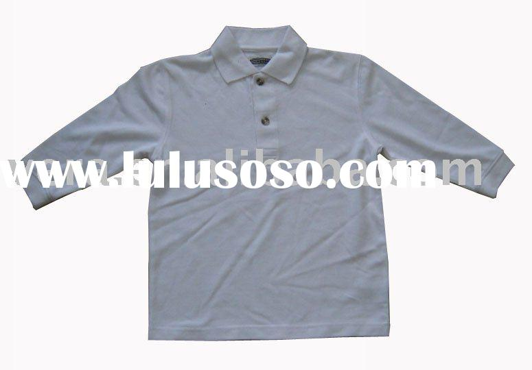 kids casual cotton polo t-shirt