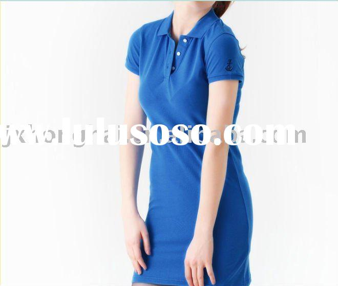 ladies polo shirt dress