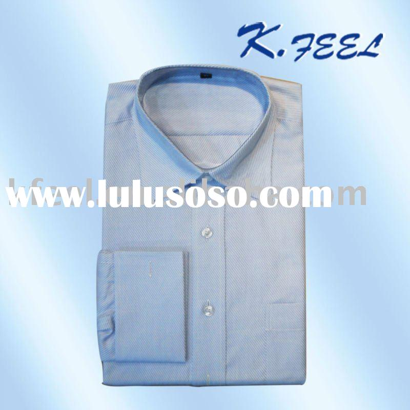 Fitted Dress Shirt Ivory French Cuff Fitted Dress Shirt