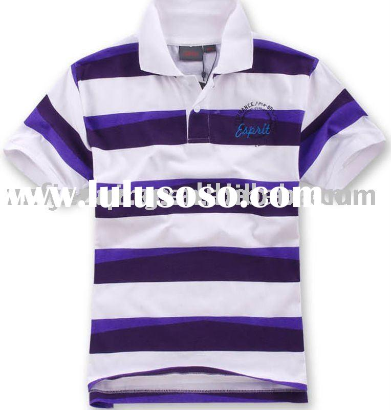 polo shirt  with stripe