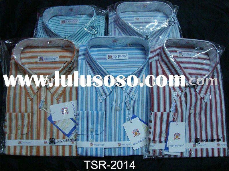 stock men's dress shirts long sleece shirts stock