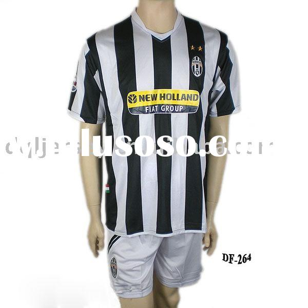 the latest 09-10 season new style Juventus Home jersey soccer