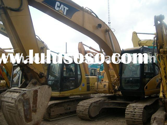 used excavator caterpillar 320C for sell (excavator crawler excavator earthmoving machine)