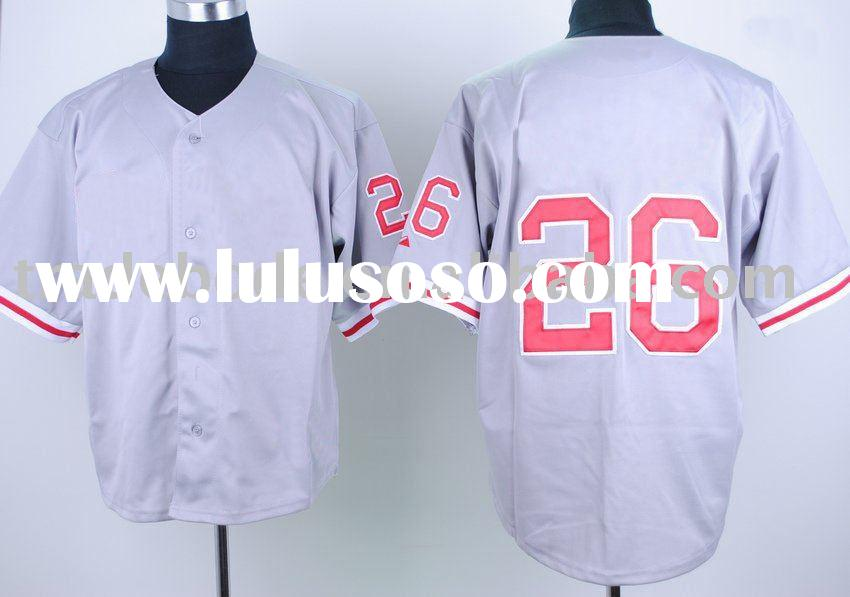 wholesale men's athletic wear, baseball jersey baseball T-shirt BQ28