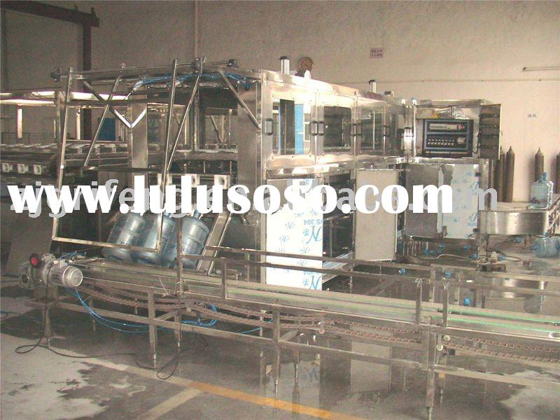 5 gallon barrel rinsing/filling/capping machine
