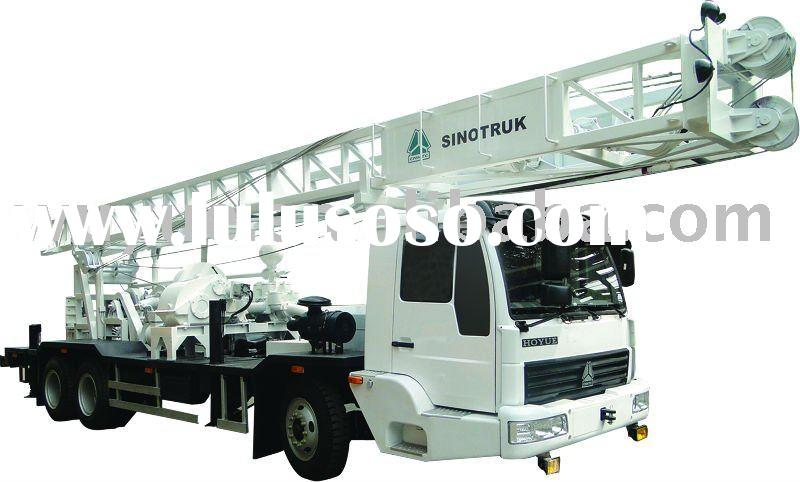 BZC300 truck mounted water well drilling rig