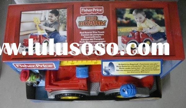 Fisher***Price Tuff Rumblin' Fire Truck/children cars/toy vehicle