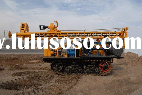 GSD-2 Crawler water well drilling rig for 150m deep