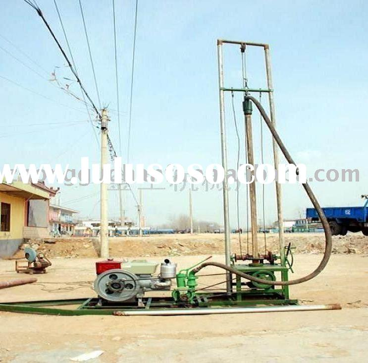 portable well drilling water drill small drill rig man portable