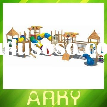 High Quality Kids Wooden Outdoor Playground Equipment
