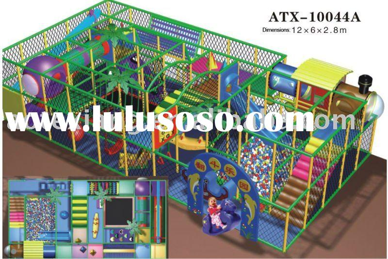 Indoor playground- Children's playground equipment--Soft play themed