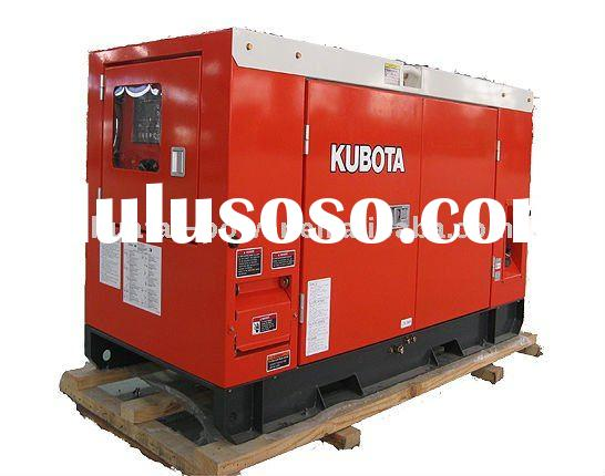Kubota and ISUZU power diesel generator set (Japanese engine)