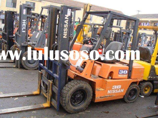 Original Nissan 3ton forklift, used Nissan 3ton truck, used Japan-made Nissan trucks