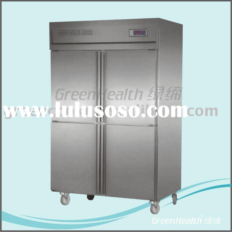 Stainless steel Commercial Kitchen refrigerator and freezer