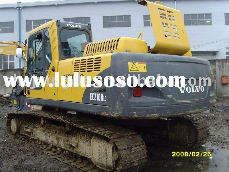 Used Volvo Excavator EC210B(used excavator,excavator,used construction machinery)