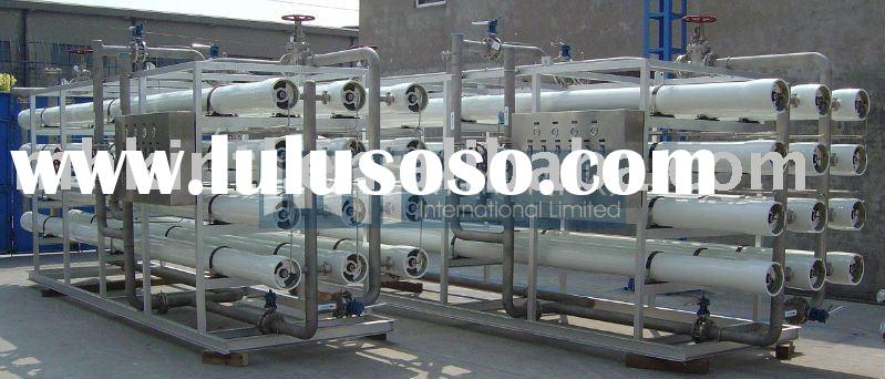 Water Treatment Industrial RO System 60ton/Hr X 2