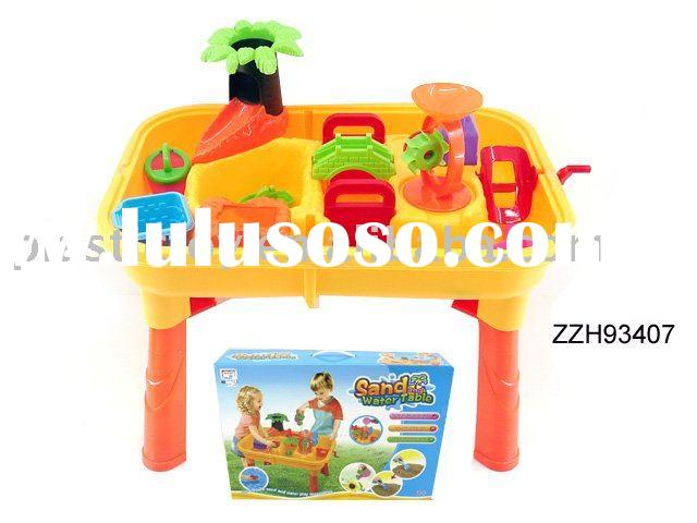 beach toy set sand and water table with board and 1pcs of accessories