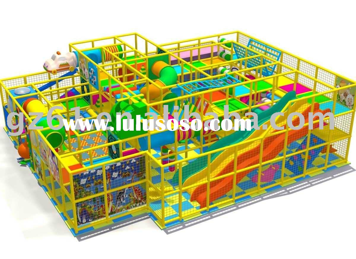 indoor toddler playground/indoor play equipment/indoor playhouse