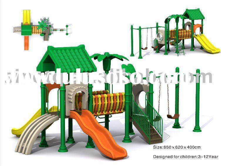 lovely outdoor play house TQ-004B