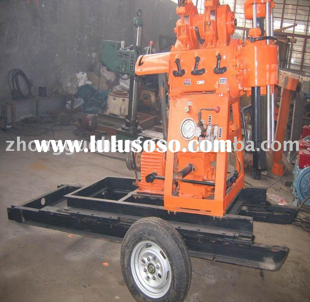 most economic and practical HF130  portable water well drilling equipment