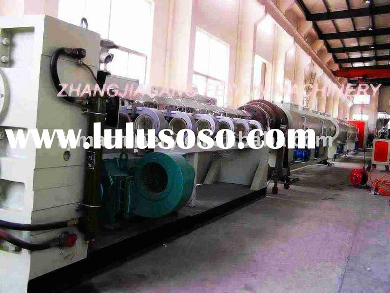 pp pe sewer and water pipe machine