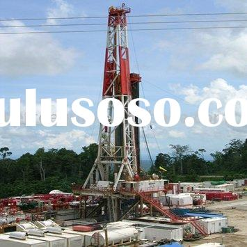 series of drilling rigs