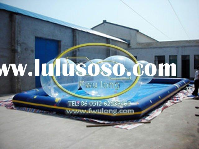 water walking ball,play in inflatable pool, professional manufacturer