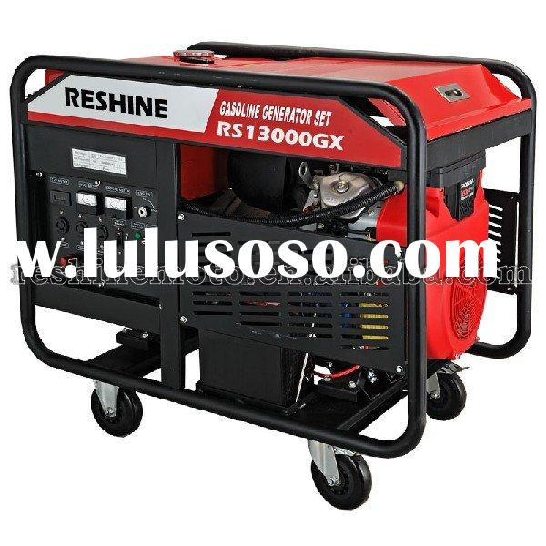 11 KW ELECTRIC KEY START PORTABLE GASOLINE GENERATOR SET POWERED GX670 ENGINE