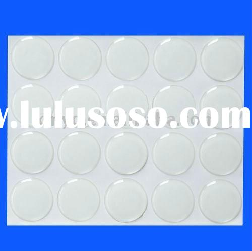 "1"" Clear Epoxy Bottle Cap Seal Sticker"