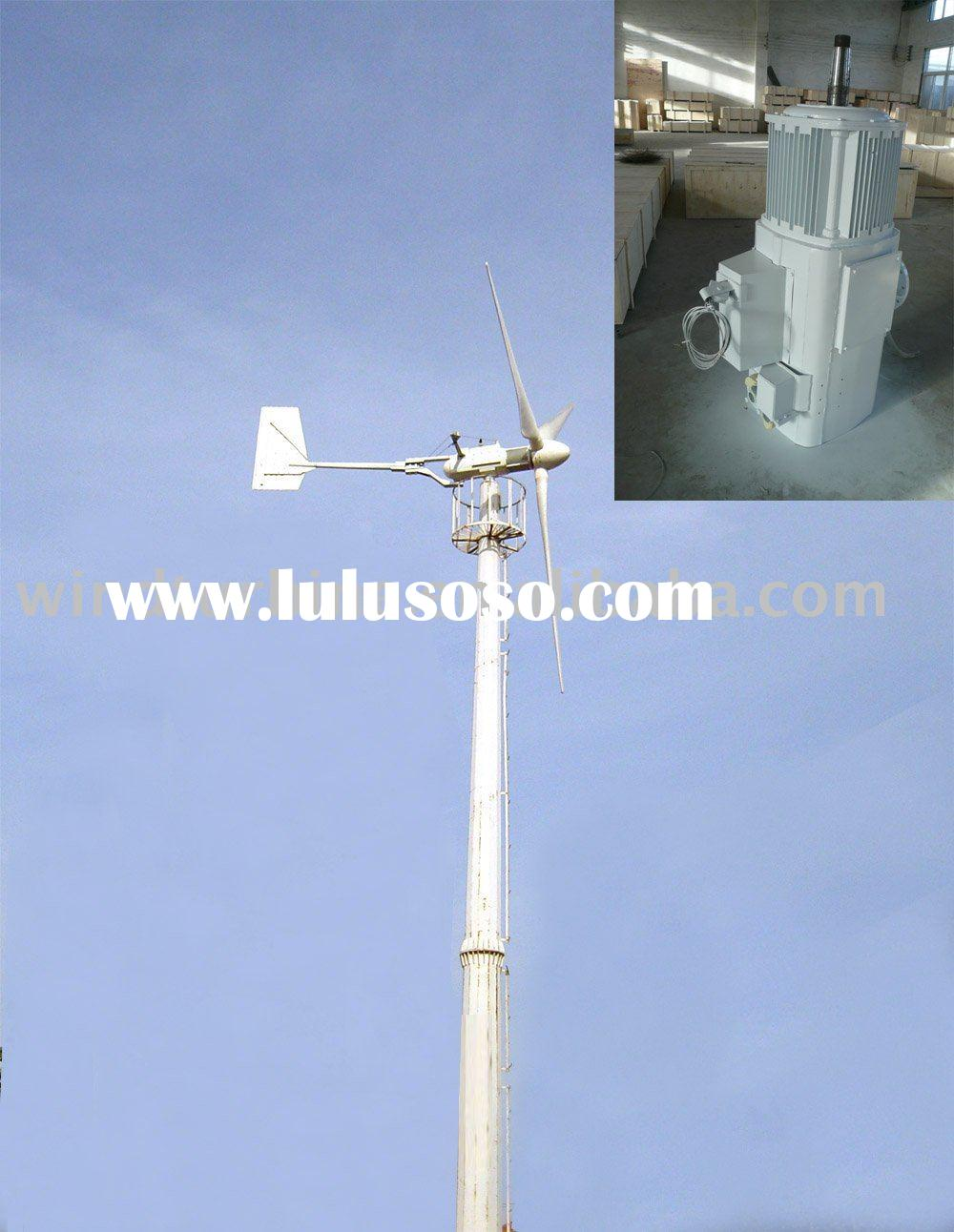 20KW Rare Earth Permanent Magnet Wind Turbine Generator for House and Farm CE