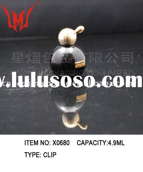 Dark Small  Tester  glass  perfume bottle