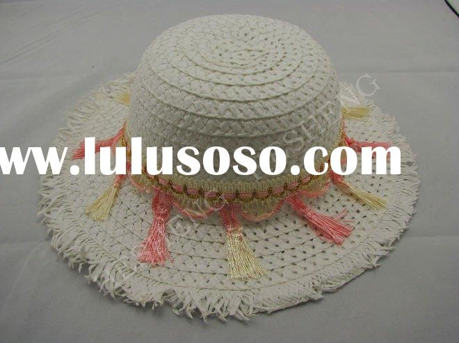 Fashion natural straw hat/fashion hat for women/straw hats for ladies