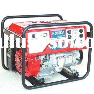 Generator powered by Honda engin